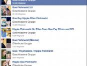 Goa-Flohmärkte auf Facebook
